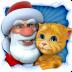 会说话的圣诞老人遇到金杰猫