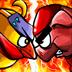 忍者胖鸡2:战地双鸡汉化版 Ninja Chicken 2 Shoot'e