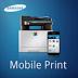 Samsung mobile print-icon