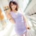 清纯唯美紫裙美女动态壁纸