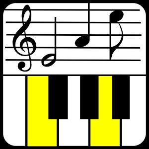 钢琴五线谱音符