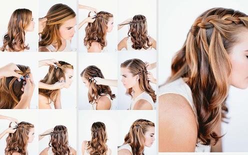 发型设计步骤图解v 1