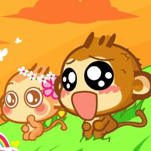 可爱的猴子hd动态壁纸
