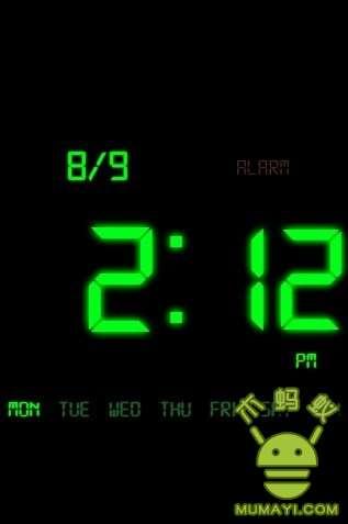 时钟屏保KaloerClock下载 时钟屏保KaloerClock手机版下载 时钟屏保