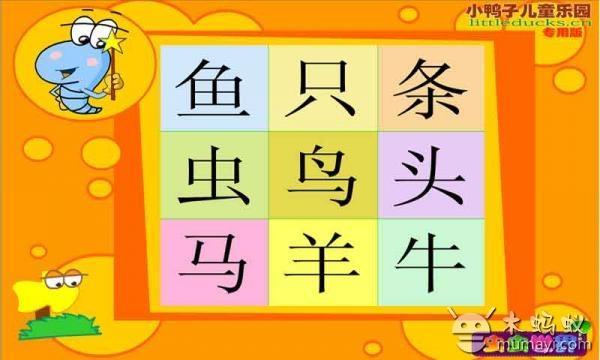帮助儿童认识了解汉字笔画形体的美丽