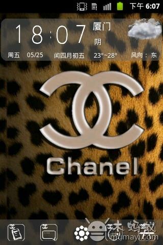 豹纹香奈儿v1.0_主题壁纸