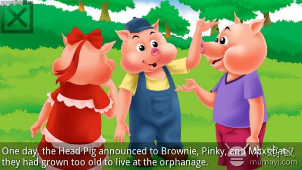 另外两只小猪最终认识到要靠勤劳和智慧才能过上快乐