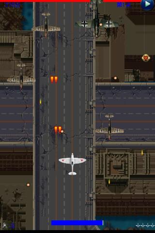 经典的飞机射击游戏,背景取材于二战欧洲空战,所有的飞机都是二战当