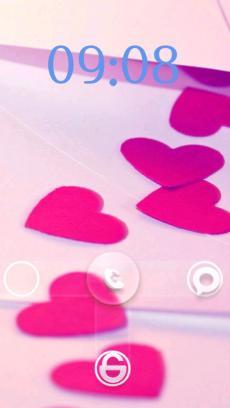 浪漫心形图壁纸锁屏 v1.