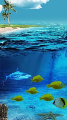 3d海底世界主题桌面高清动态壁纸 v1.7图片