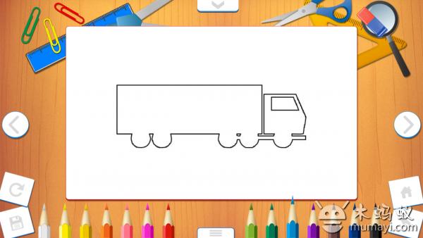 幼儿绘画作品手工边框