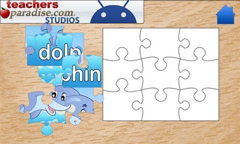 儿童海洋动物拼图 v