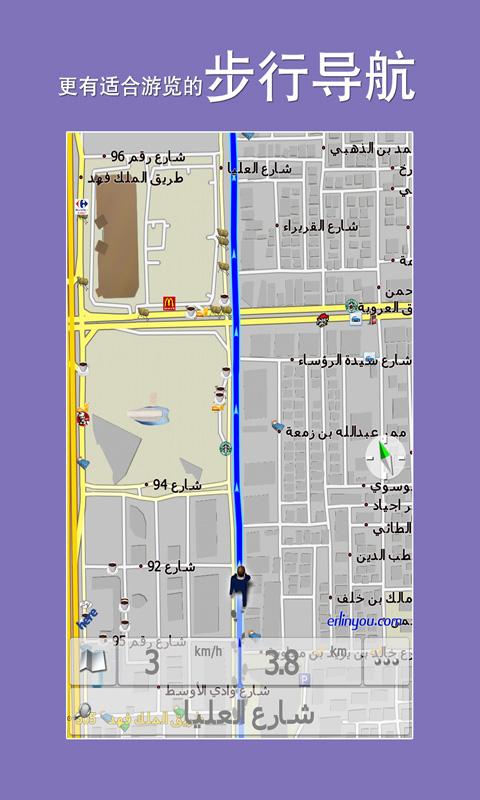 沙特阿拉伯地图 V5.0