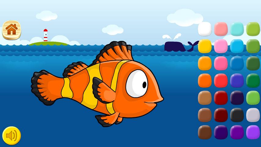 少儿海底动物剪纸图案大全