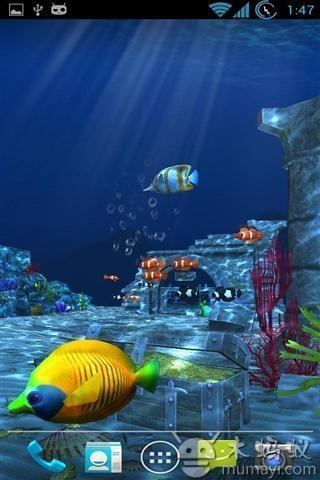 游戏手绘海洋场景