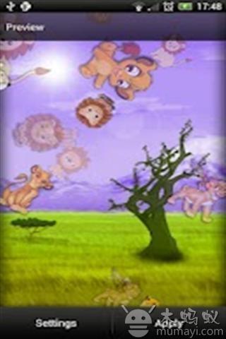 可爱的狮子主题壁纸下载