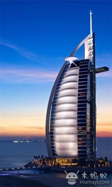 迪拜城市风景手机壁纸 1.