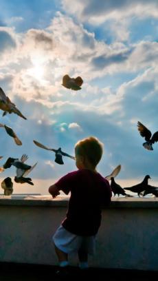 可爱小孩高清壁纸下载