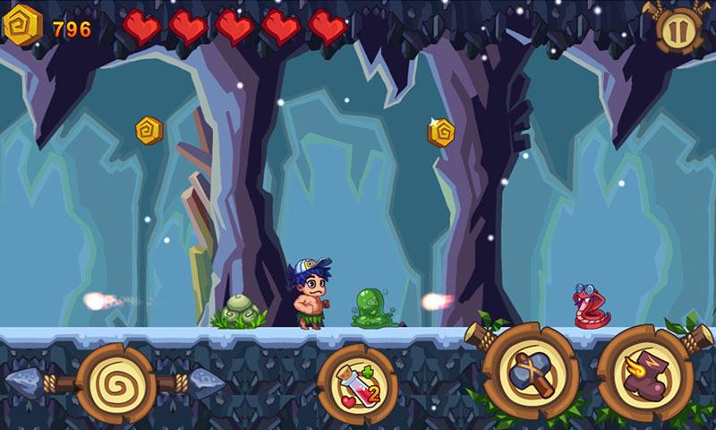 游戏介绍:《冒险岛》是一款画风超萌老少皆爱的热门冒险游戏,精美的游戏画面,痛快淋漓的冒险闯关,令人欲罢不能。游戏内的音乐随场景而变换,中途还会有天气变化,淅淅沥沥的小雨抑或是飘飘荡荡的花瓣都令人着迷,能够给玩家们带来更愉快的游戏体验。 《冒险岛》的主要游戏模式是冒险关卡,也就是广大玩家熟悉的横版卷轴模式,玩家还可以收集金币换取个性服饰。 简洁的游戏理念使得即便你是第一次接触《冒险岛》的新玩家也能在第一时间上手。 冒险岛手机版截图