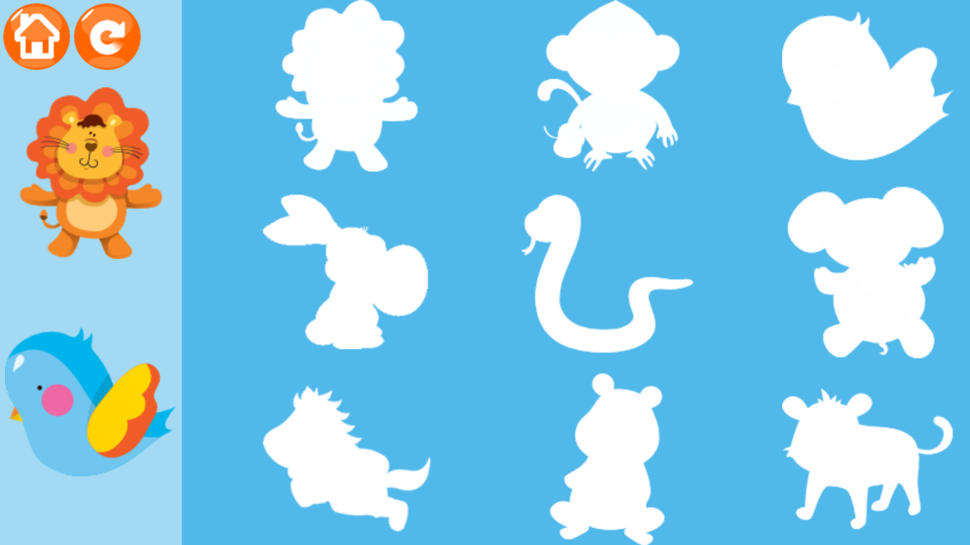 《宝宝拼图识动物》是一款适合于婴幼儿的识物软件。《宝宝拼图识动物》是宝宝的掌上动物园,家长必备的幼儿认知教育软件。 《宝宝拼图识动物》拥有两个功能块: (1) 动物园:动物园收录了33种世界各地的动物和中文发音,让宝宝喜欢上可爱的动物。 (2) 拼图游戏:拼图游戏里面有9种动物,让宝宝将动物贴到正确的位置,即动手又动脑。
