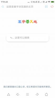 寰宇浏览器 V1.6