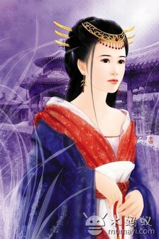古典美女动态壁纸