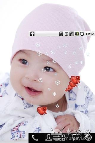 可爱宝宝动态壁纸 v1.0