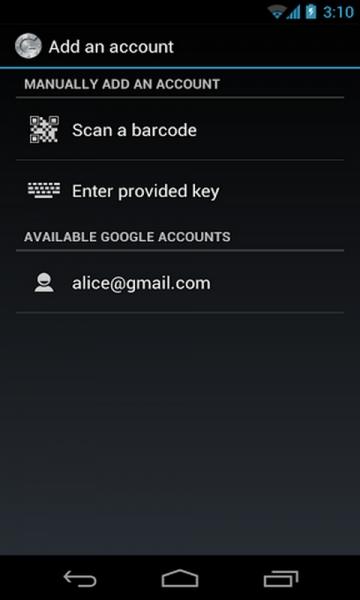 谷歌身份验证器 Google Authenticator-截图