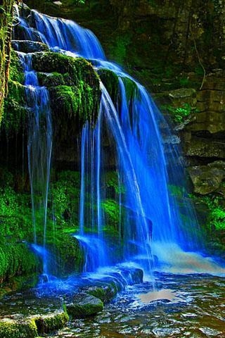 风景 旅游 瀑布 山水图片