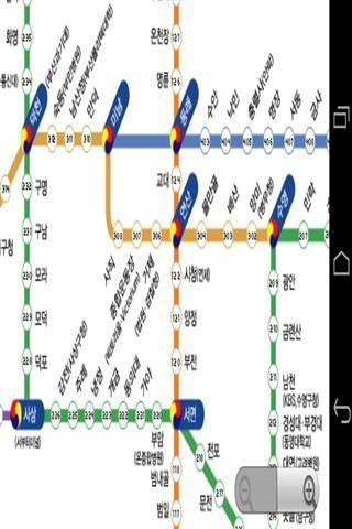 釜山地铁地图