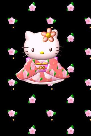 可爱kitty猫壁纸
