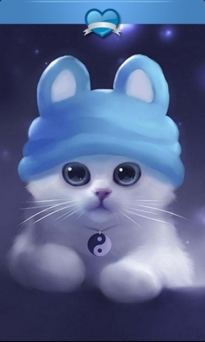 可爱萌猫卡通qq头像