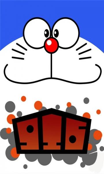 哆啦a梦的可爱动态壁纸 528次下载 大小: 1.