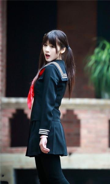 清纯可爱校服学生妹动态壁纸 v3.0