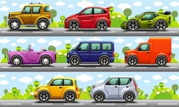 卡通汽车拼图下载_卡通汽车拼图手机版下载
