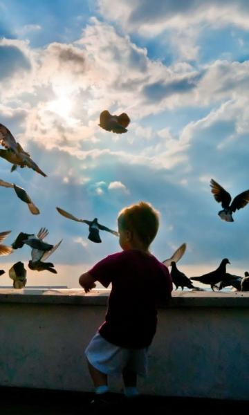 可爱小孩高清壁纸-截图