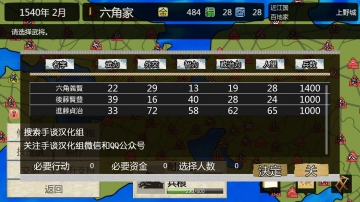 战国之雄3 汉化版-截图