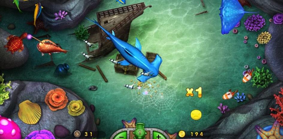 手机类似捕鱼达人的游戏下载