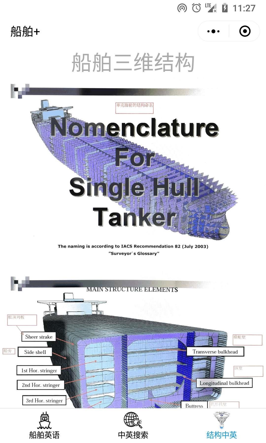 船舶结构英语